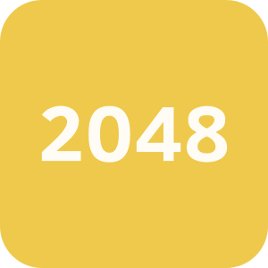 Logo of the 2048 game